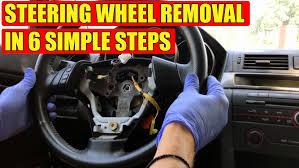 Tutorial How To Remove Mazda 3 Mazda 6 Steering Wheel In 6