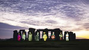 The great age, massive scale and mysterious purpose of stonehenge draw over 800,000 visitors per year, and. Stonehenge Illuminated In Dedication To Unsung Champions Of Uk Heritage The National Lottery Heritage Fund