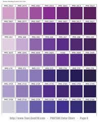 PANTONE Color Chart - PMS