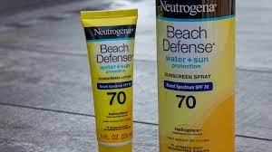 Neutrogena Sunscreen Recall