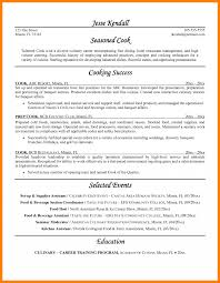Prep Cook Resume Resumes Cook Resume No Experience Prep Cover Letter Head Skills 31