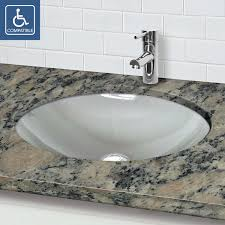 undermount bathroom sink oval. Beautiful Bathroom Undermount Bathroom Sink Oval New On Perfect 1129u Fcr Web 4 Intended D