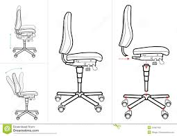 office chair drawing. Perfect Chair Office Chair Drawing Throughout Drawing R