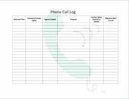 Daily Call Sheet Template Phone Call Log Template Excel Digitalhustle Co