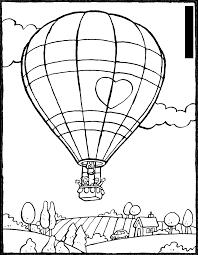 Bộ sưu tập tranh tô màu khinh khí cầu đẹp nhất cho bé vừa tô màu vừa chiêm  ngưỡng - Wiki BBBZ