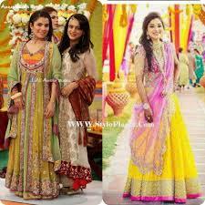 Best Dress Design 2017 Mehndi Dress Collection 2018 Fashion Dresses