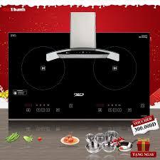 Combo Bếp từ Chefs DIH 2000A + Máy hút mùi Arber AB 700N
