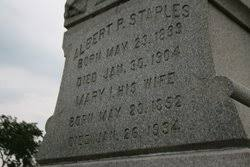 Mary Ida Ray Staples (1852-1934) - Find A Grave Memorial