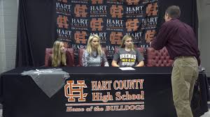 HCHS Signing Day: Ivy Grant signs to play Softball with Brenau University -  YouTube