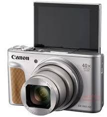 Цифровой <b>фотоаппарат Canon PowerShot SX740</b> HS серебро ...