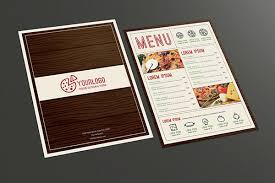 Menu Designs Fancy Restaurant Menu Design Designs Net