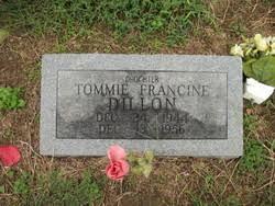 Tommie Francine Dillon (1944-1956) - Find A Grave Memorial
