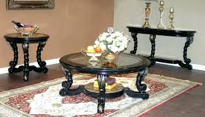 storage living room black 3 piece coffee table sets coffee