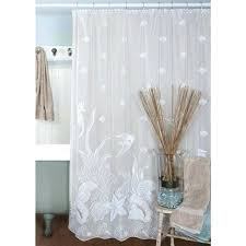 beachy curtains shower curtains coastal beach fabric