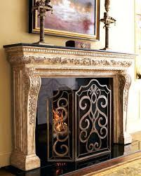 bronze fireplace screen with doors ginkgo wazee oil rubbed panel bronze fireplace screen with doors uniflame brushed bronze finish fireplace screens