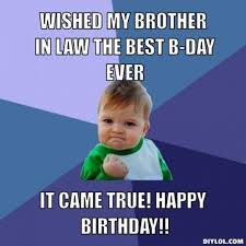 Birthday Quotes For Brother In Law | Cute Love Quotes via Relatably.com