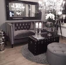 wonderful black white grey living room