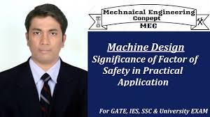 Factor Of Safety In Machine Design Machine Design Significance Of Factor Of Safety In