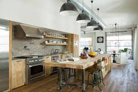 industrial modern kitchen designs