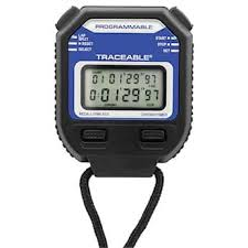 Countdown Roll Chart Holder Digi Sense Traceable Digital Stopwatch Repeat Timer With Calibration