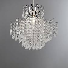 modern lighting fixture. Sheridan Clear Bead Easy Fit Pendant Shade Modern Lighting Fixture
