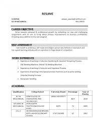 Career Objective Resume Sample For Inspirational