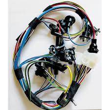 1968 mustang shelby gauge cluster wiring harness (with tach) 68 Mustang Fuse Panel at Complete Wiring Harness 68 Mustang