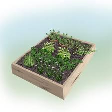 fresh and handy 4 x foot herb garden bonnie plants