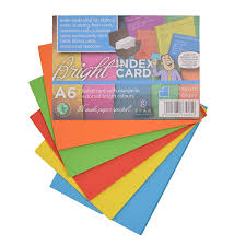 Make Index Cards Index Cards Ruled A6 A7 100s Trefoil