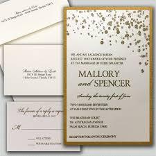 Invitations Formal Charming Dots Wedding Invitations