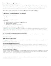 resume templates microsoft word 2010 free download microsoft word resume template 2010 lifespanlearn info