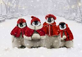 christmas penguin wallpaper. Perfect Penguin Cute Christmas Penguin Wallpaper  Photo3 To Christmas Penguin Wallpaper I