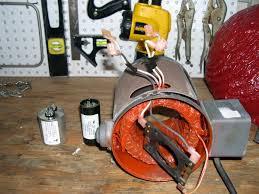 help wiring capacitors to motor motor jpg