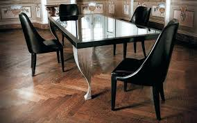 glass dining table base dining room round clear thick glass dining table top rounded golden frame
