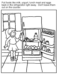 The theme food is split into several parts. Healthy Food Coloring Pages For Kids Coloring Home