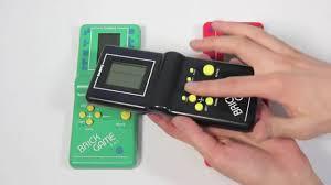 Играть в тетрис как в 90-е - Simba's Brick Game - YouTube