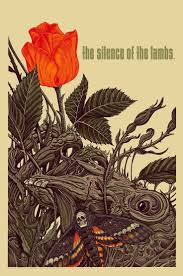 best images about the silence of the lambs hannibal lecter on silence of the lambs movie poster by florian bertmer