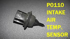 how to test and replace intake air temperature sensor p0110 hd how to test and replace intake air temperature sensor p0110 hd