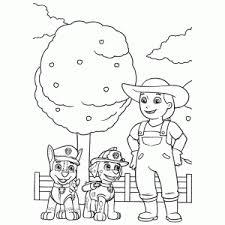 Paw Patrol Coloring Sheets Leuk Voor Kids