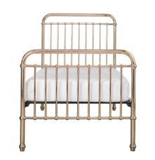 EDEN ROSE GOLD METAL BED - KING SINGLE
