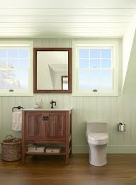 Tranquil Bathroom Ceiling Detail For Walk Up Attic Green Bathroom Ideas Natural