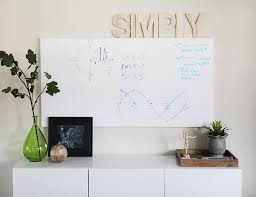 whiteboard for office wall. Home Office Make-over - The Whiteboard Wall For P
