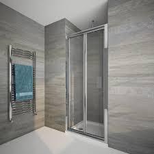 bi fold shower door