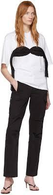 Ssense Size Chart Ssense Exclusive White Bra T Shirt