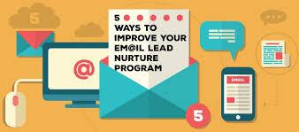 Lead Nurturing 5 Ways To Improve Your Lead Nurturing Program