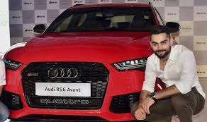new car launches audiAudi RS6 Avant launched in India by Virat Kohli priced at Rs 135
