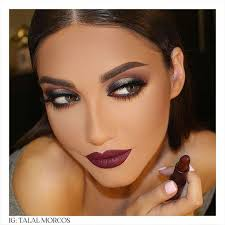 image result for glamour face makeup