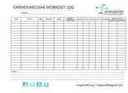 Cardio Workout Logs Rome Fontanacountryinn Com