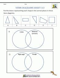 Venn Diagram Worksheets 3rd Grade Lesson Plan Ks2 Ba | Elipalteco