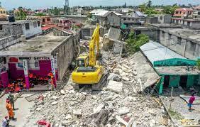 Twee weken na de aardbeving op Haïti ...